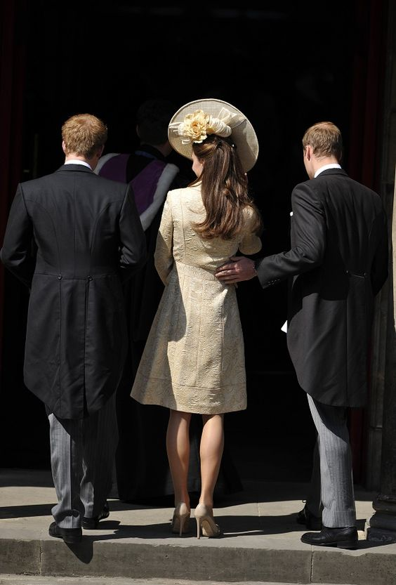 The Duke & Duchess of Cambridge with Prince Harry