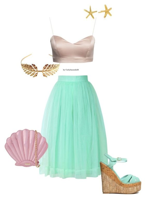 We Just Wanted to Drown Her by carlyamanda58 on Polyvore featuring Chicwish, Qupid, Skinnydip, Gorjana, Tuleste, women's clothing, women's fashion, women, female and woman