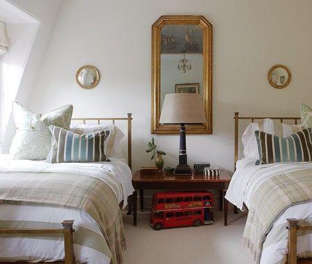 Beautiful Sarah Richardson boys bedroom! #bedroom #classical #traditional #Sarahrichardson