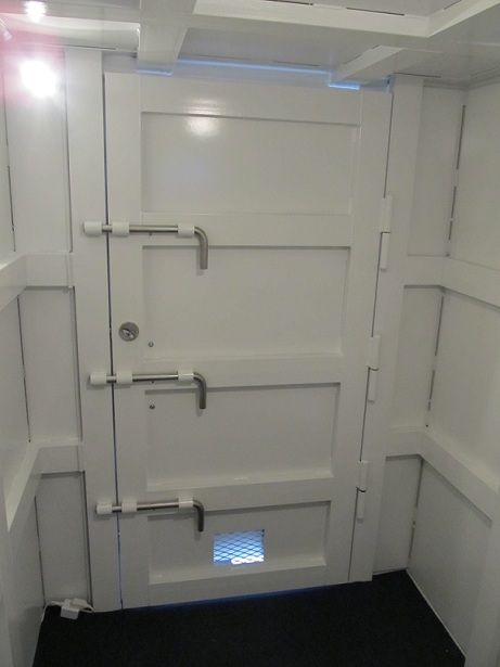 High Security Doors Safe Room Protecting Or Home Pinterest Door And