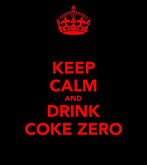 keep-calm-and-drink-coke-zero: