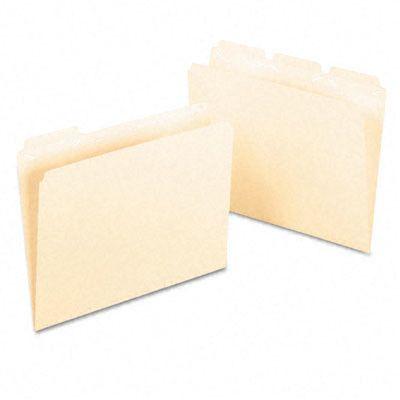 Ready-Tab Ready-Tab File Folders, 1/3 Cut Top Tab, Letter, 50/Box