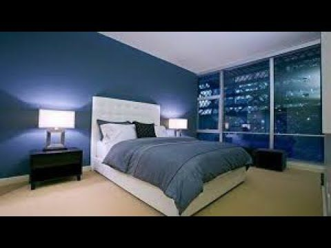 Navy Blue Bedroom Decorating Ideas In 2020 Blue Bedroom Design Blue Bedroom Modern Bedroom Decor