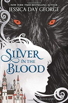 SILVER IN THE BLOOD by Jessica Day George. What an unusual and interesting setting for a book! It made me want to learn more about Romania and European history. #bookworm #reading #books #youngadult - Batch of Books