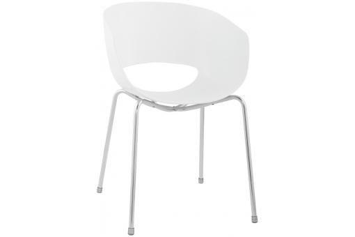 Chaise Blanche Dublin - Chaise Design Pas Cher