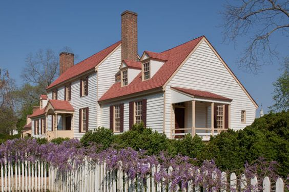 St george tucker house colonial williamsburg va it for Williamsburg craft house catalog