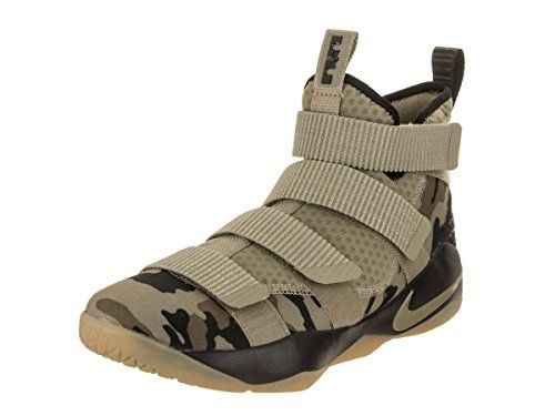Nike Lebron Soldier Xi Size 9 Mens Basketball Neutral Olive ...