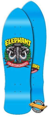 Street Axe Blue skateboard deck by Elephant 9.5 x 32