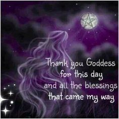 Till tomorrow, my sweets…. – Witches Of The Craft® #blessing #gratitude