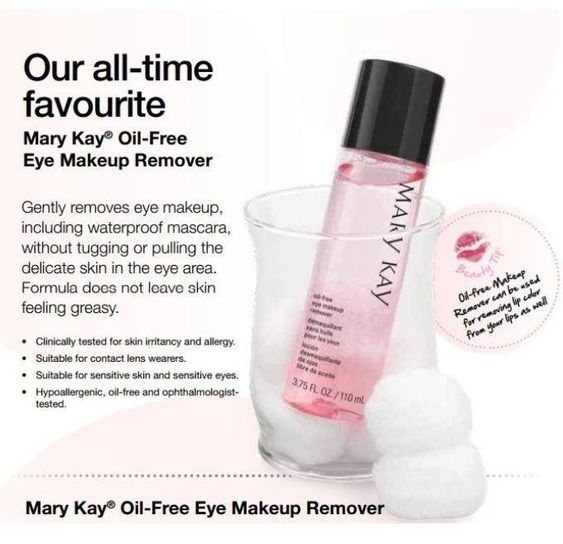 Best Seller Gently Removes Eye Makeup Including Waterproof Mascara Without Tugging Or Pulling Eye Makeup Remover Oil Free Eye Makeup Remover Mary Kay Eyes