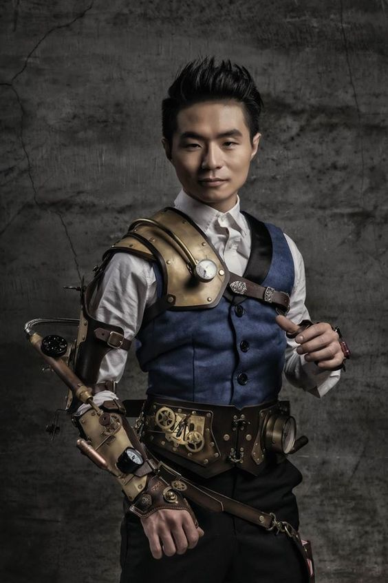 """steampunksteampunk: """"  """"This is me! And I am a magician in Taiwan."""" (source) """""""