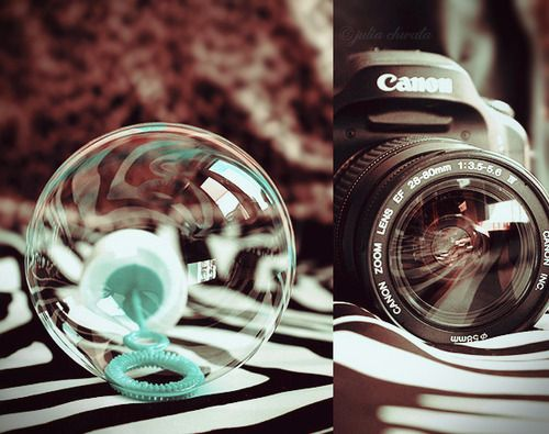 bubble like lens