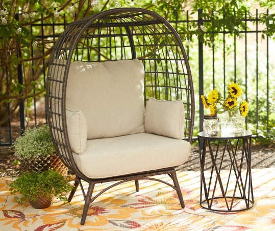 Wilson Fisher Baytree All Weather Wicker Cushioned Cuddle Patio