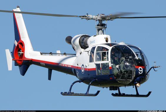 Aerospatiale (Westland) SA-341C Gazelle HT2 aircraft picture