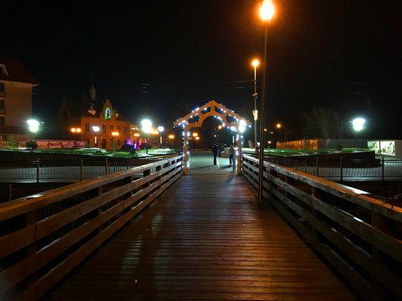 Огни Балтики в ночь Нового года. Фото: Evgenia Shveda