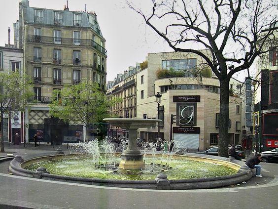 Praça em Pigalle