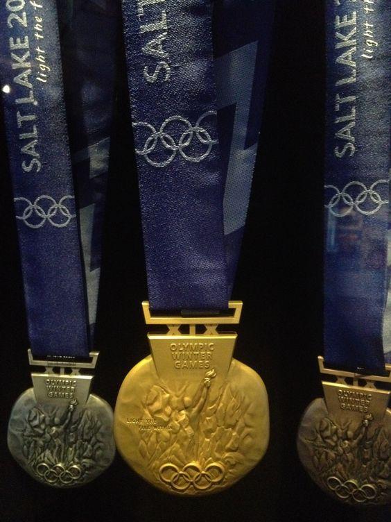 Exterior: 2002 Winter Olympics Medals - Salt Lake City, Utah