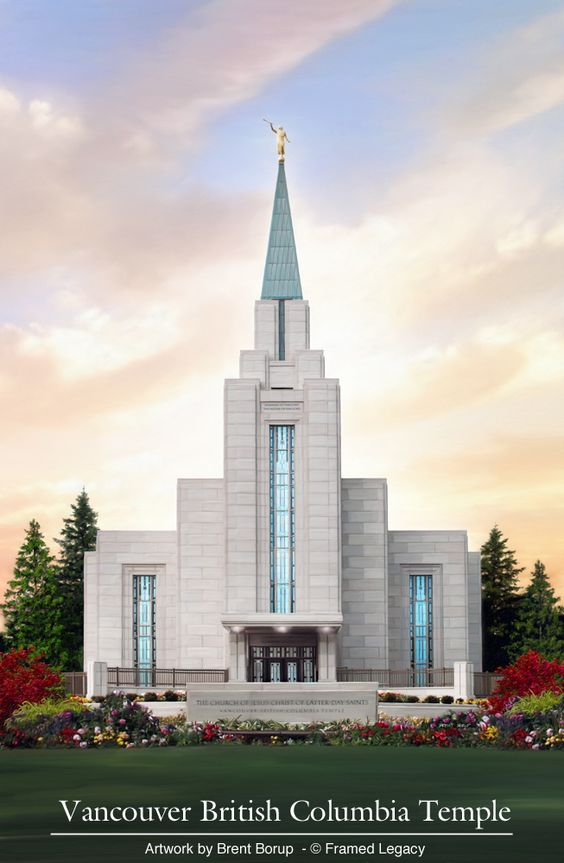Vancouver British Columbia Temple - Wikipedia
