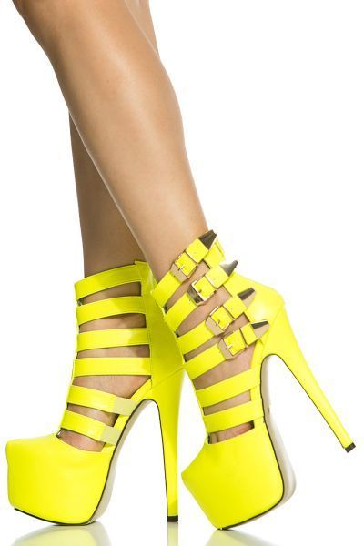 Lovely Yellow Shoes