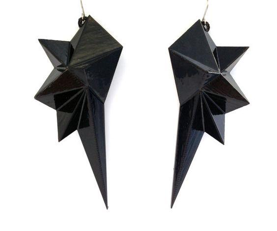 Glam Rock Earrings // Edgy Earrings // Rocker by smashingdesigns17, $37.00