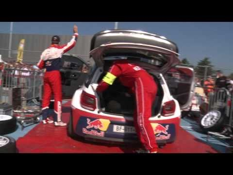 Day 3: Saturday of Rallye de France-Alsace 2011 (English & French)
