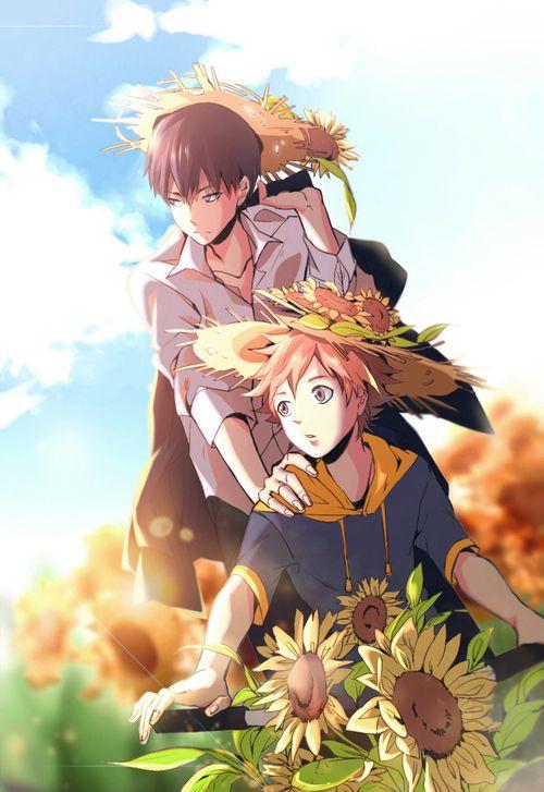 Kageyama & Hinata | Haikyuu!! #anime 影日·向日葵 | Cadsu [pixiv]