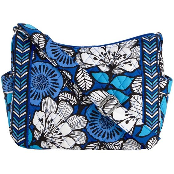 Vera Bradley On the Go Crossbody in Blue Bayou ($49) ❤ liked on Polyvore featuring bags, handbags, shoulder bags, blue bayou, portobello road, sale patterns, crossbody purse, hobo crossbody, crossbody shoulder bags and crossbody handbags