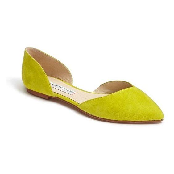 Women's Kristin Cavallari 'Cadence' Flat (€97) ❤ liked on Polyvore featuring shoes, flats, kristin cavallari, kristin cavallari shoes and flat shoes