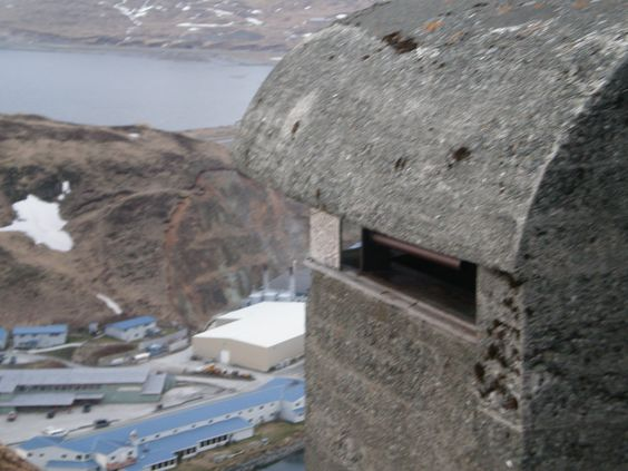 WW2 Bunker above Dutch Harbor,AK