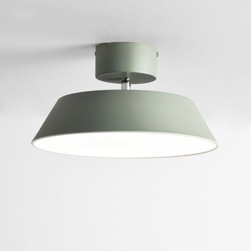Scandinavia Led Northern Semi Flush Ceiling Light In Matte Finish