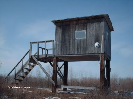 Deer blind plans deer blinds and texas hunting on pinterest for Diy deer stand plans