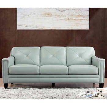 Atmore Top Grain Leather Sofa Top Grain Leather Sofa Leather Sofa Top Grain Leather