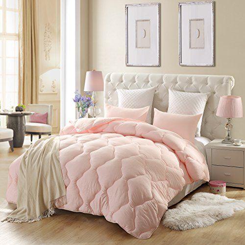 Lovo Down Alternative Comforter Pink Full