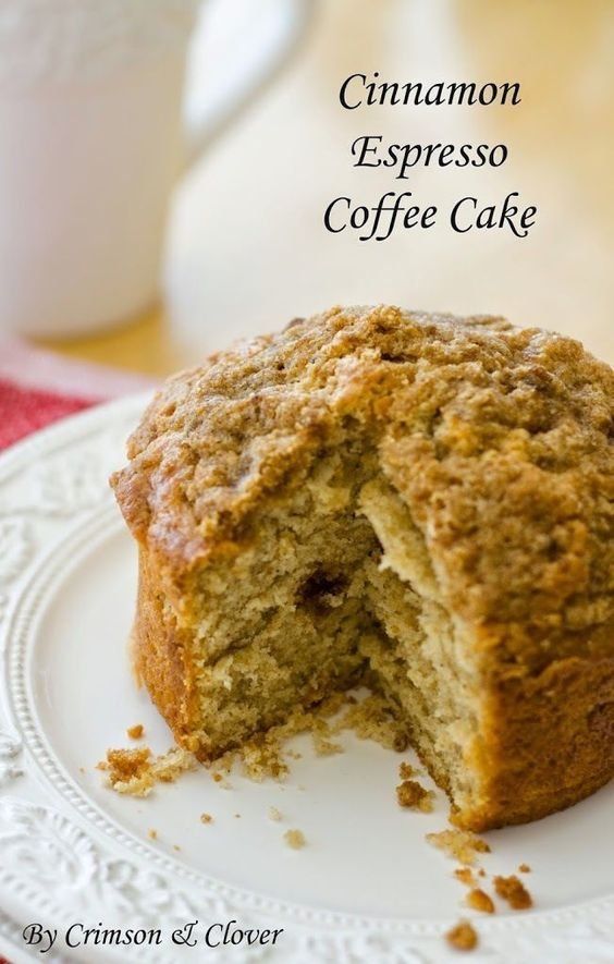 Coffee and cake have never tasted so sweet. Cinnamon and espresso are ...