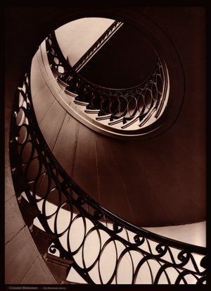 I love architecture and staircases.
