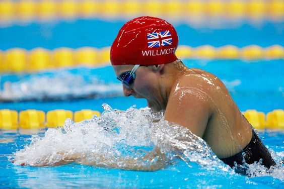 Aimee Willmott of Great Britain competes in heat four of the Women's 400m Individual Medley on Day 1 of the Rio 2016 Olympic Games at the Olympic Aquatics Stadium on on August 6, 2016 in Rio de Janeiro, Brazil.