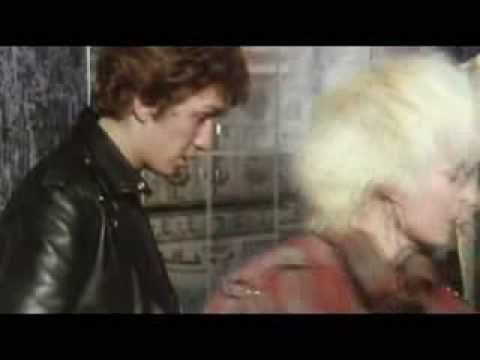 Derek Nimmo goes Punk Vivienne Westwood inside Seditionaries showing off her designs to Derek Nimmo.