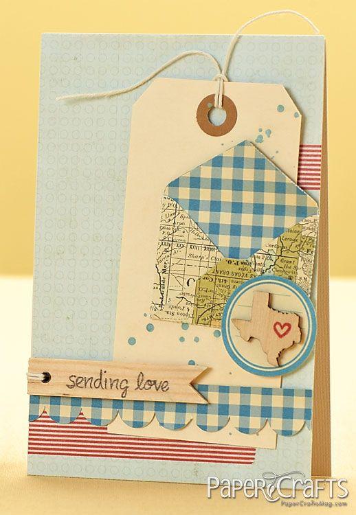 Sending Love Card by @Julie Campbell
