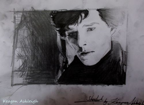 keagan-tagada:  My last fanart of Sherlock. See more here. (blog in french, ask me for translation if you need one :) )