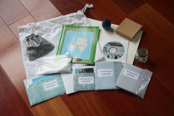 Continent bag 5: Antarctica #geography