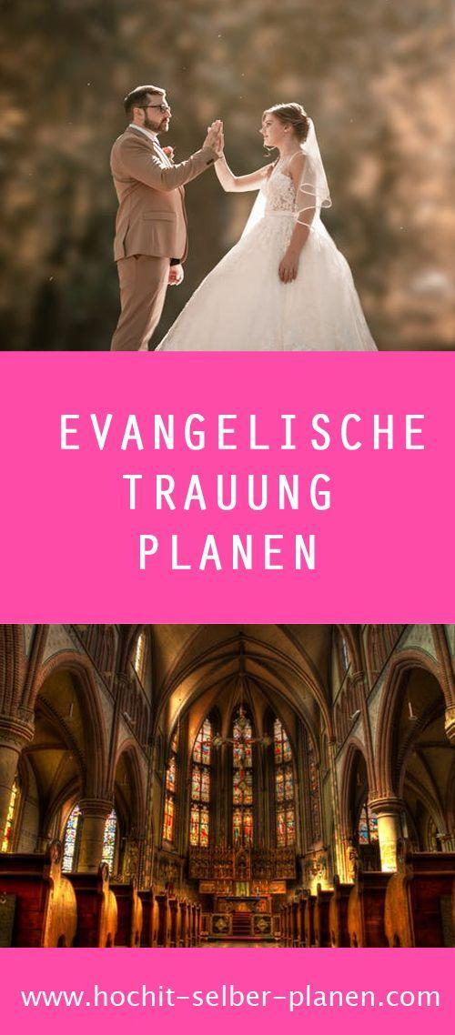 Evangelische Trauung In Der Evangelischen Kirche Wird Die Ehe Gemass Der Lehre Luthers Als Weltliche Angelegenheit Betrachtet Und Daher