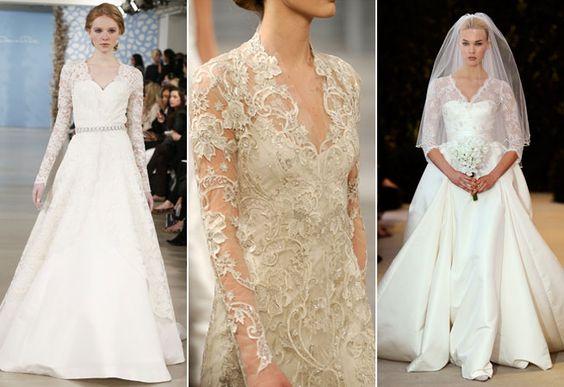 vêu vestido de casamento desfile 2014