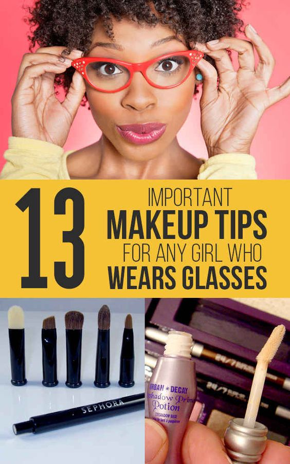 11 Important Makeup Tips For Any Girl Who Wears Glasses | Some decent tips for us glasses-wearers!