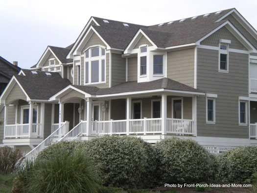 Duck north carolina pinterest lighthouses house porch for Beach house deck ideas