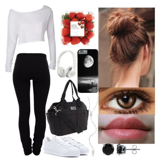 """""""#236"""" by tammo-rusher ❤ liked on Polyvore featuring Helmut Lang, adidas Originals, Marc by Marc Jacobs, BERRICLE, Meira T and Beats by Dr. Dre"""