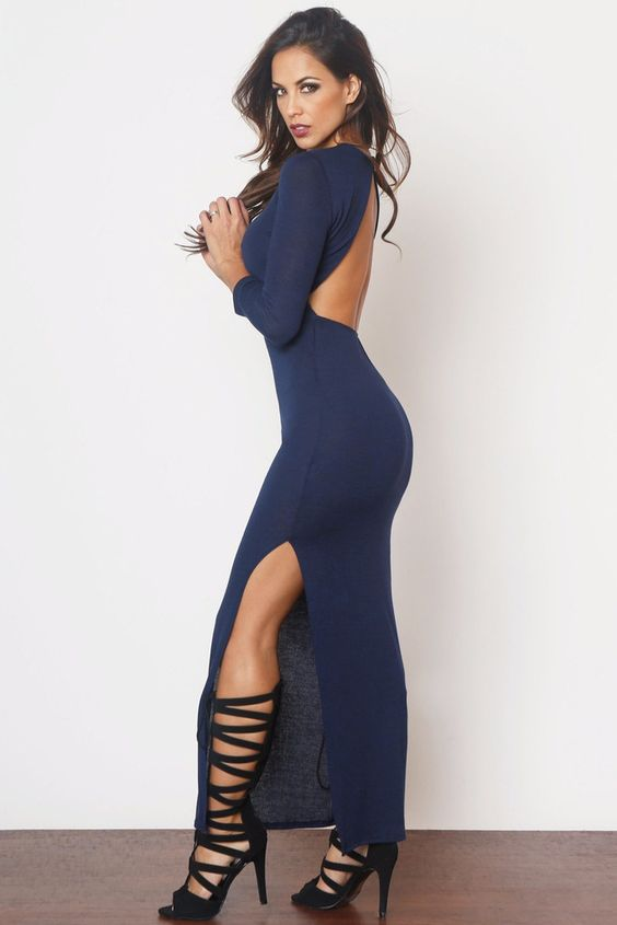 Keep On Dreaming Navy Dress - Fashion Effect Store  - 1