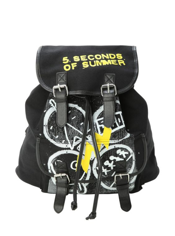 your backpack (preferences 5sos) - Polyvore