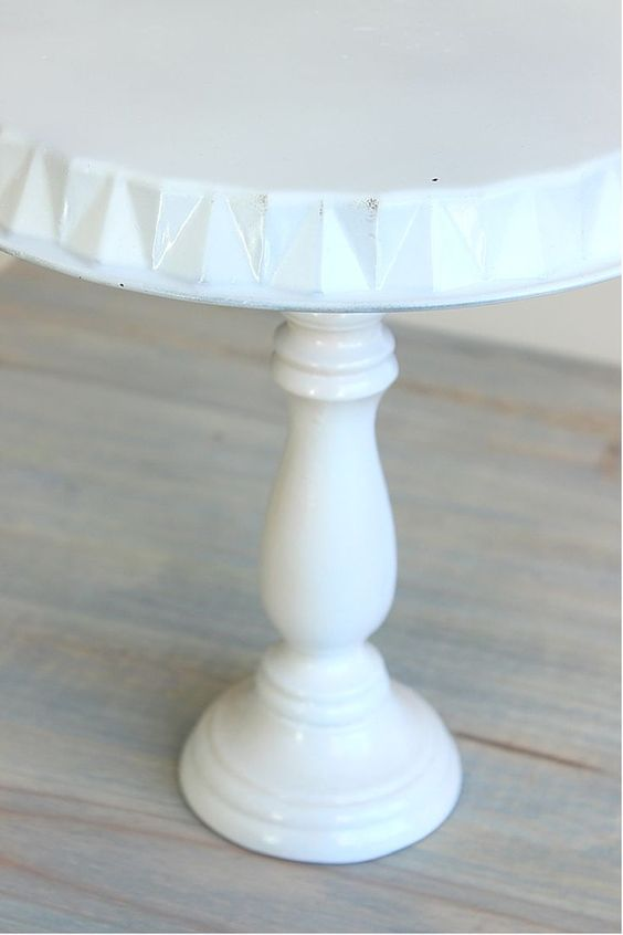 Diy Cake Stand Tutorial How To Make A Cake Stand At Home