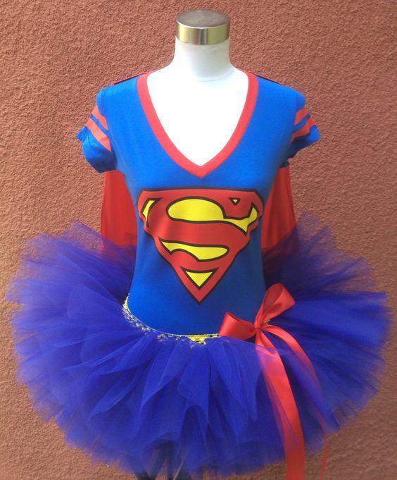 Superman Tutu, Superhero Running Tutu, Running Tutu, by ShellyRioBoutique on Etsy