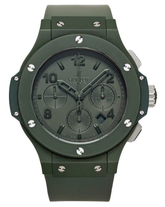 "Hublot Big Bang ""All Green"" Chronograph Ref. 301.GI.5290.RG"